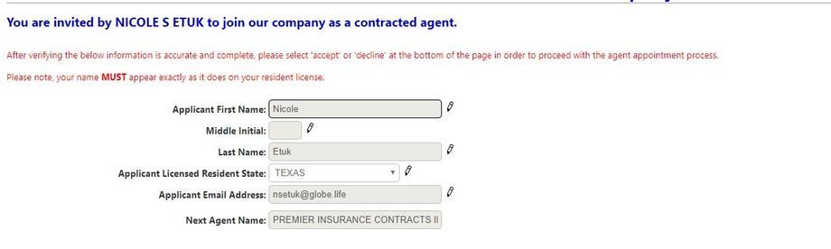 United American Insurance Company Premier Insurance Contracts Inc